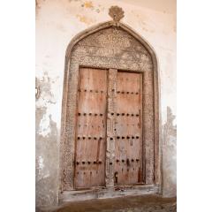 Carved Doorway